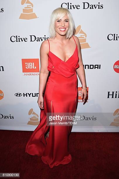 Singer Natasha Bedingfield attends the 2016 PreGRAMMY Gala and Salute to Industry Icons honoring Irving Azoff at The Beverly Hilton Hotel on February...