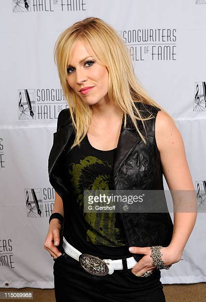 Singer Natasha Bedingfield attends the 39th Annual Songwriters Hall of Fame Ceremony at the Marriott Marquis on June 19 2008 in New York City