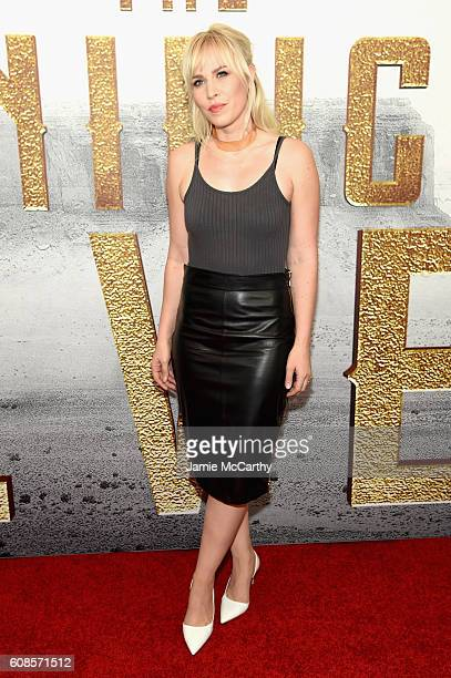 Singer Natasha Bedingfield attends 'The Magnificent Seven' premiere at the Museum of Modern Art on September 19 2016 in New York City