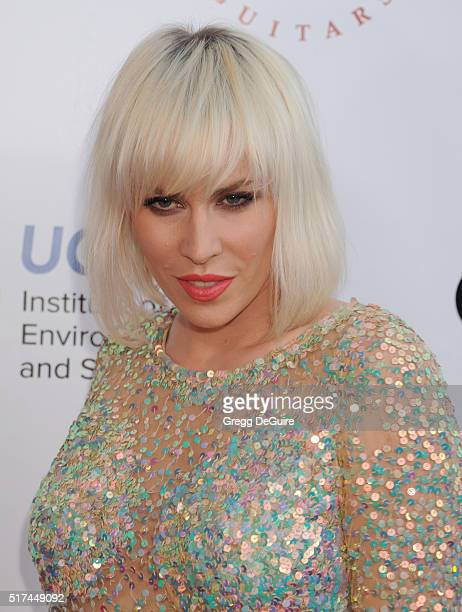 Singer Natasha Bedingfield attends UCLA Institute of the Environment and Sustainability celebration of the Champions Of Our Planet's Future on March...