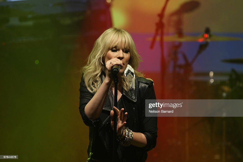 Experience The Benefits Of Being Blonde With Natasha Bedingfield : News Photo