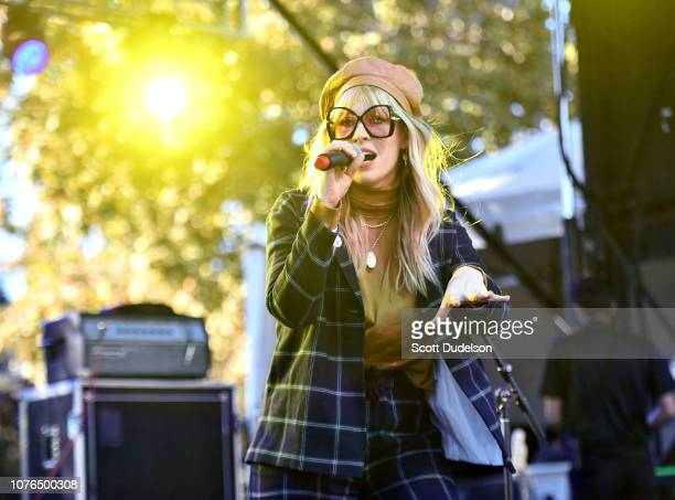 Singer Natasha Bedingfield performs onstage during the One Love Malibu Festival at King Gillette Ranch on December 02 2018 in Malibu California