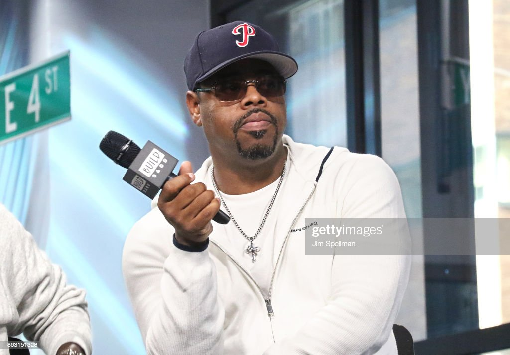Singer Nathan Morris of Boyz II Men attends Build to discuss their album 'Under the Streetlight' at Build Studio on October 19, 2017 in New York City.