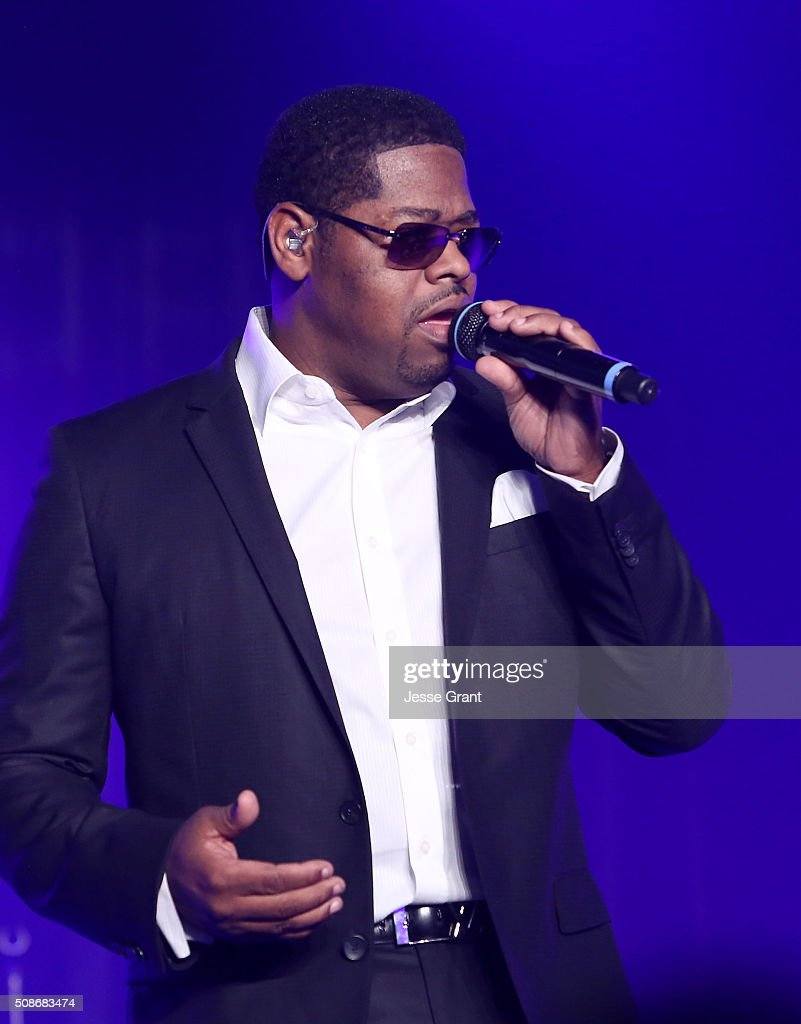Singer Nathan Morris of Boyz II Men performs during the 47th NAACP Image Awards Presented By TV One After Party at the Pasadena Civic Auditorium on February 5, 2016 in Pasadena, California.