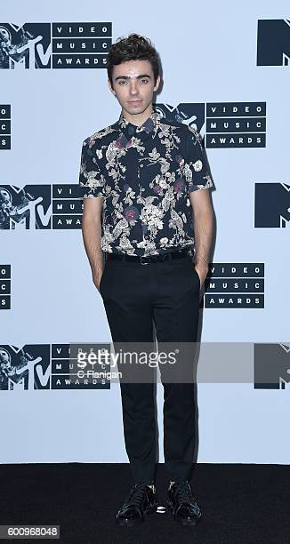 Singer Nathan Sykes attends the 2016 MTV Video Music Awards at Madison Square Garden on August 28 2016 in New York City