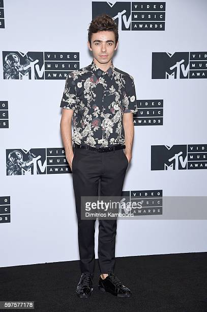 Singer Nathan Sykes attends the Press Room at the 2016 MTV Music Video Awards at Madison Square Garden on August 28 2016 in New York City