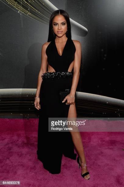 Singer Natti Natasha attends Univision's 29th Edition of Premio Lo Nuestro A La Musica Latina at the American Airlines Arena on February 23 2017 in...