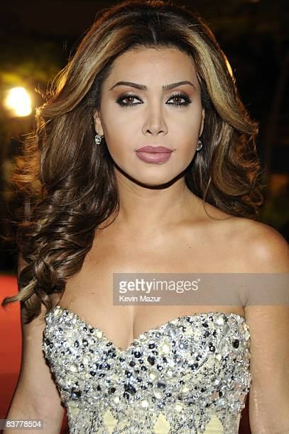 Singer Nawal attends the landmark Grand Opening of Atlantis The Palm Resort and the Palm Jumeirah on November 20 2008 in Dubai United Arab Emirates