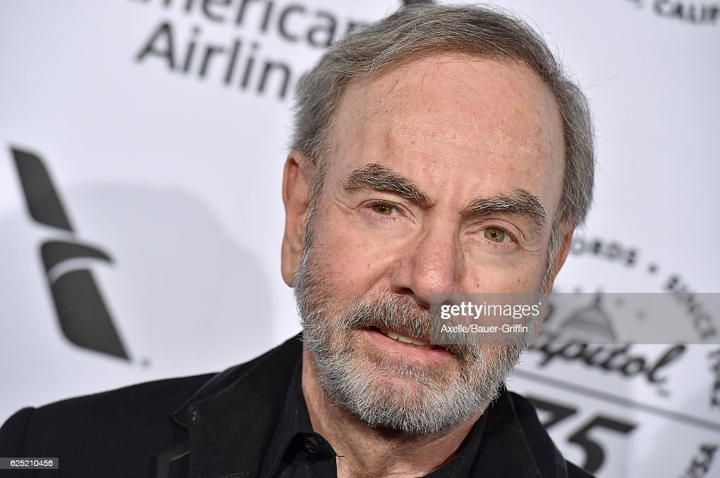 Singer Neil Diamond attends Capitol Records 75th Anniversary Gala at Capitol Records Tower on November 15, 2016 in Los Angeles, California.