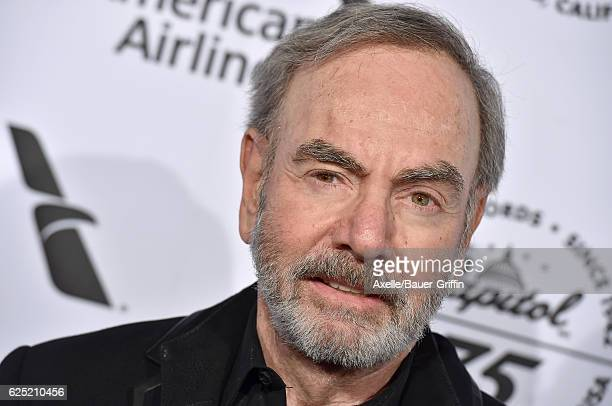 Singer Neil Diamond attends Capitol Records 75th Anniversary Gala at Capitol Records Tower on November 15 2016 in Los Angeles California
