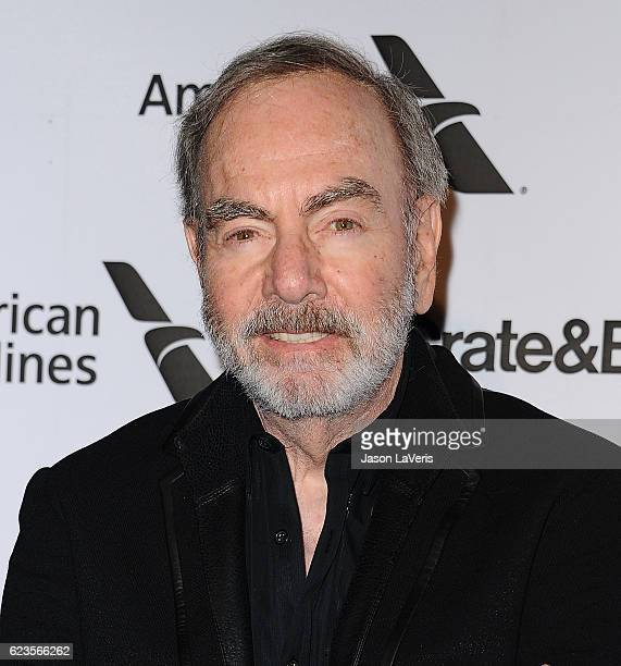 Singer Neil Diamond attends the Capitol Records 75th anniversary gala at Capitol Records Tower on November 15 2016 in Los Angeles California
