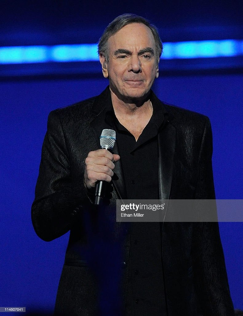 Singer Neil Diamond performs onstage during the 2011 Billboard Music Awards at the MGM Grand Garden Arena May 22, 2011 in Las Vegas, Nevada.