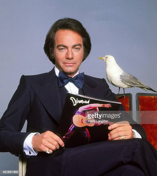 Singer Neil Diamond poses for a portrait in 1984 in Los Angeles California