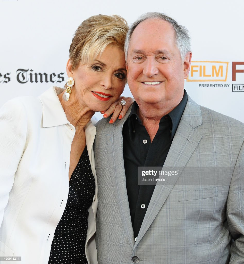 Singer Neil Sedaka (R) and wife Leba Strassberg attend the 2014 Los Angeles Film Festival closing night film premiere of 'Jersey Boys' at Premiere House on June 19, 2014 in Los Angeles, California.