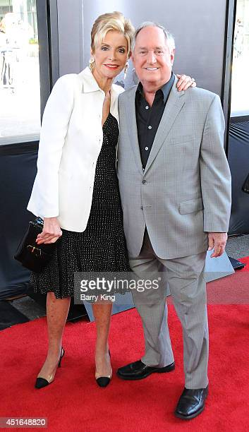 Singer Neil Sedaka and wife Leba Strassberg attend the 2014 Los Angeles Film Festival closing night premiere of 'Jersey Boys' at Premiere House on...