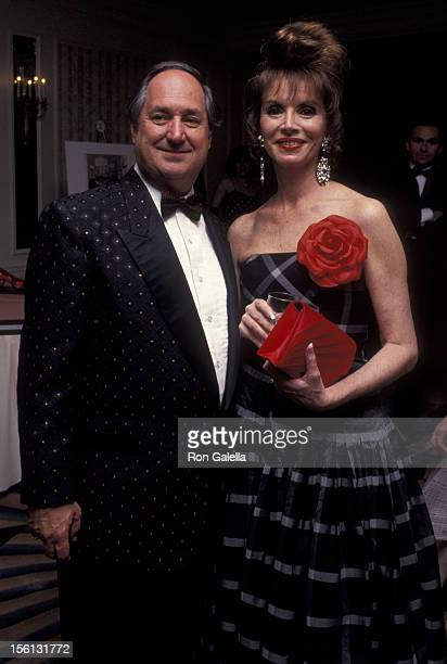 Singer Neil Sedaka and wife Leba Strassberg attending 22nd Annual Songwriters Hall of Fame Awards Dinner on May 29 1991 at the New York Hilton Hotel...