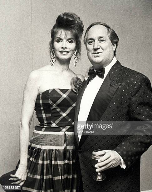 Singer Neil Sedaka and wife Leba Strassberg attending 22nd Annual Songwriters Hall of Fame Induction Dinner on May 29 1991 at the New York Hilton...