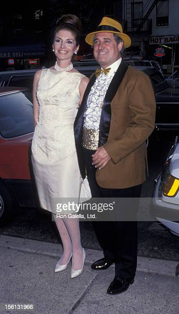 Singer Neil Sedaka and wife Leba Strassberg attending '50s and 60s Gala Benefiting American Cancer Society' on May 16, 1991 at St. Vartan's in New...