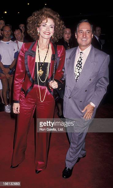Singer Neil Sedaka and wife Leba Strassberg attending 'Bette Midler Tour Kick Off Party' on September 14 1993 at Radio City Music Hall in New York...