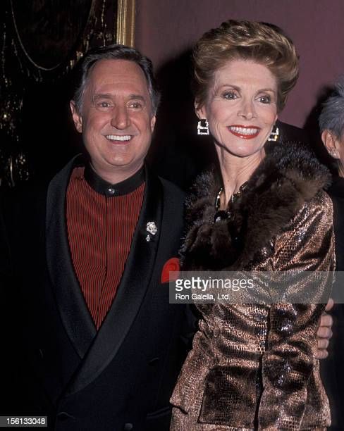 Singer Neil Sedaka and wife Leba Strassberg attending 'Black Tie Gala Fundraiser Benefiting Food Allergy Initiative' on December 1 1999 at the Plaza...