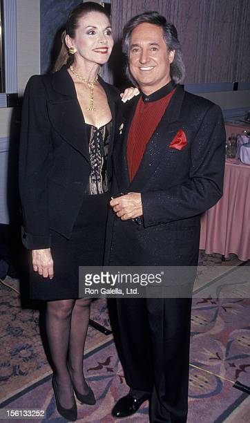 Singer Neil Sedaka and wife Leba Strassberg attending 'International Emmy Awards' on November 21 1994 at the New York Hilton Hotel in New York City...