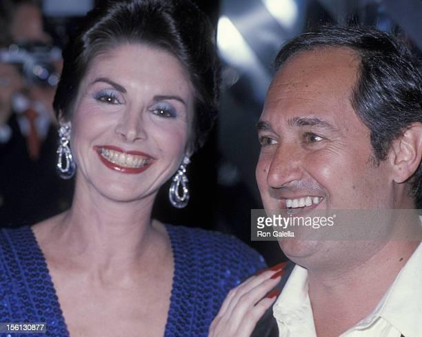 Singer Neil Sedaka and wife Leba Strassberg attending 'Sweet 16 Party for Dara Sedaka' on June 10, 1979 at the New York New York Disco in New York...