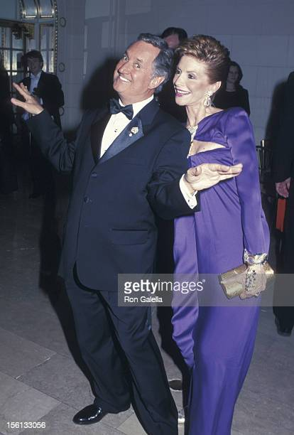 Singer Neil Sedaka and wife Leba Strassberg attending 'The Food Allergy Ball Honoring Howard Gittis' on November 28 2001 at the Plaza Hotel in New...