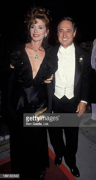 Singer Neil Sedaka and wife Leba Strassberg attending the opening night of '150th Season of the New York Philharmonic' on May 26 1993 at Lincoln...