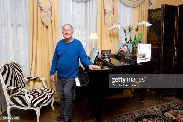Singer Neil Sedaka is photographed for Daily Mail on October 28 2013 in New York City