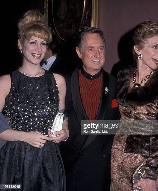 Singer Neil Sedaka wife Leba Strassberg and daughter Dara Sedaka attending 'Black Tie Gala Fundraiser Benefiting Food Allergy Initiative' on December...