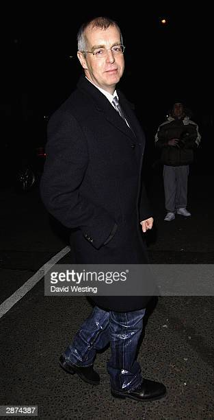 Singer Neil Tennant of 'The Pet Shop Boys' attends Kate Moss' 30th birthday party at the home of Agent Provocateur owner Serena Rees on January 16...