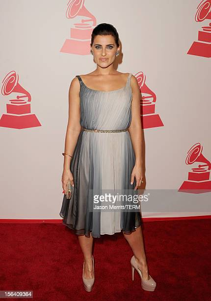 Singer Nelly Furtado arrives at the 2012 Latin Recording Academy Person Of The Year honoring Caetano Veloso at the MGM Grand Garden Arena on November...