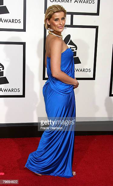 Singer Nelly Furtado arrives at the 50th annual Grammy awards held at the Staples Center on February 10 2008 in Los Angeles California