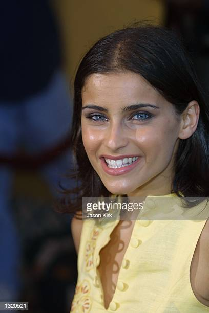 """Singer Nelly Furtado arrives at the world premiere of the film """"Lara Croft: Tomb Raider"""" June 11, 2001 in Westwood, CA."""