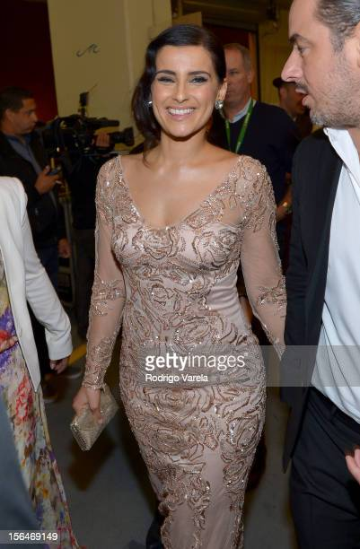 Singer Nelly Furtado attends the 13th annual Latin GRAMMY Awards held at the Mandalay Bay Events Center on November 15 2012 in Las Vegas Nevada