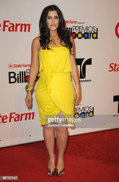 Singer Nelly Furtado attends the 2010 Billboard Latin Music Awards at Coliseo de Puerto Rico José Miguel Agrelot on April 29, 2010 in San Juan,...