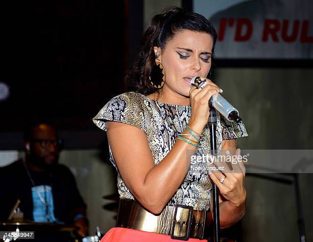 Singer Nelly Furtado performs at The Sayers Club on July 19 2012 in Hollywood California