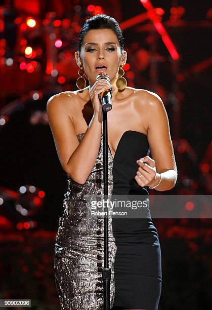 Singer Nelly Furtado permorms onstage at the 2009 ALMA Awards held at Royce Hall on September 17 2009 in Los Angeles California