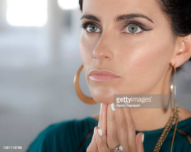 Singer Nelly Furtado poses for a portrait in Los Angeles California