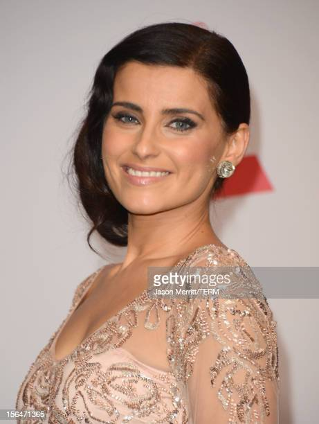 Singer Nelly Furtado poses in the press room during the 13th annual Latin GRAMMY Awards held at the Mandalay Bay Events Center on November 15, 2012...