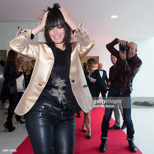 Singer Nena attends the Victress Awards Gala 2015 at Andel's Hotel on April 13 2015 in Berlin Germany