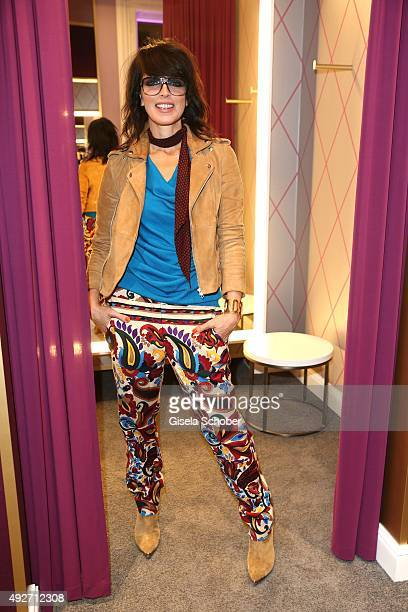 Singer Nena during the Talbot Runhof flagship boutique opening at Preysing Palais on October 14 2015 in Munich Germany