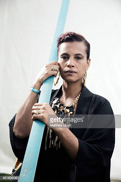 Singer Neneh Cherry is photographed for the Times on June 6, 2014 in London, England.