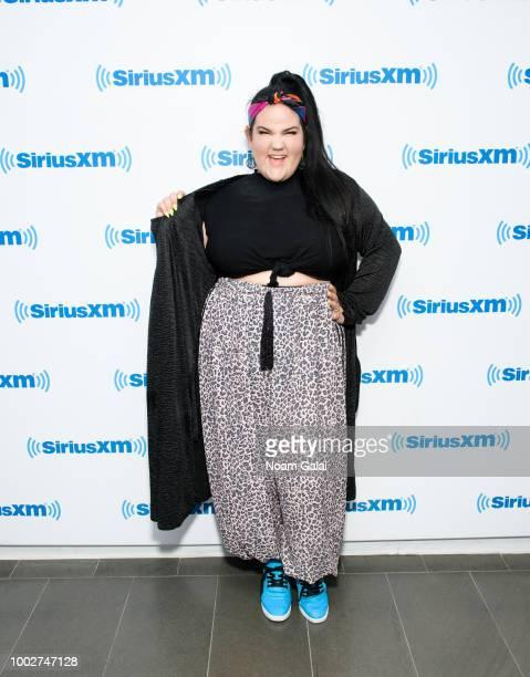 Singer Netta Barzilai visits the SiriusXM Studios on July 20 2018 in New York City