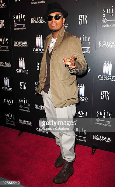 Singer NeYo arrives at LeBron James 26th birthday party at Coco de Ville at The Gansevoort on December 30 2010 in Miami Beach Florida