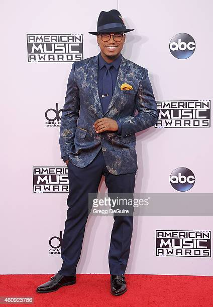 Singer NeYo arrives at the 2014 American Music Awards at Nokia Theatre LA Live on November 23 2014 in Los Angeles California