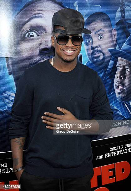 Singer NeYo arrives at the Los Angeles premiere of 'A Haunted House 2' at Regal Cinemas LA Live on April 16 2014 in Los Angeles California