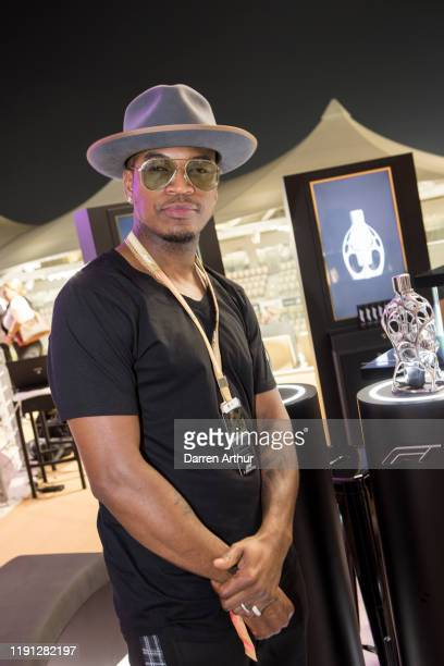 Singer NeYo at the launch of the F1 fragrance at the Formula 1 Etihad Airways Grand Prix Yas Marina Circuit on December 1 2019 in Abu Dhabi United...