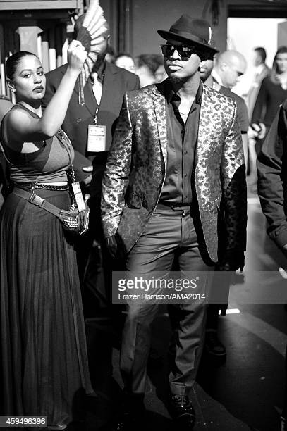 Singer NeYo attends the 2014 American Music Awards at Nokia Theatre LA Live on November 23 2014 in Los Angeles California
