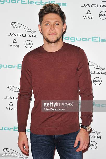 Singer Niall Horan of One Direction attends the Next Era Jaguar Vehicle Unveiling Event at Milk Studios on November 14 2016 in Los Angeles California